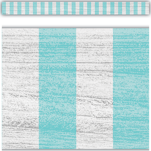 TCR8702 Vintage Blue Stripes Straight Border Trim Image