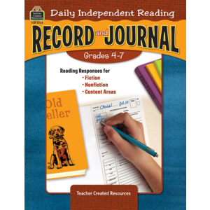 TCR8722 Daily Independent Reading Record and Journal Image