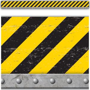 TCR8740 Under Construction Straight Border Trim Image