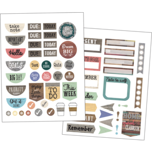 TCR8748 Home Sweet Classroom Planner Stickers Image