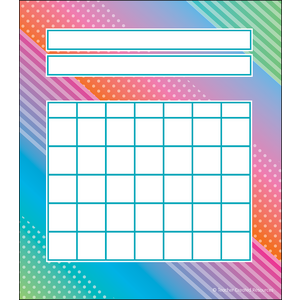 TCR8784 Colorful Vibes Incentive Charts Image