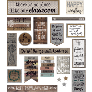 TCR8814 Home Sweet Classroom Mini Bulletin Board Image