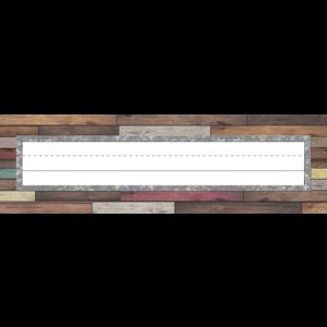 TCR8828 Home Sweet Classroom Flat Name Plates Image