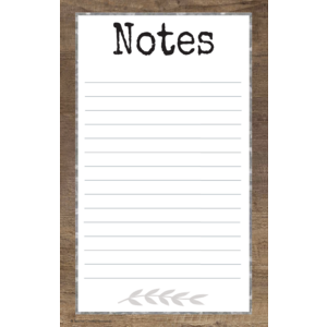 TCR8833 Home Sweet Classroom Notepad Image