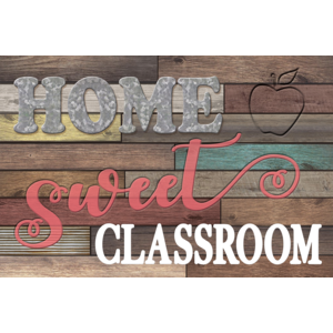 TCR8834 Home Sweet Classroom Postcards Image