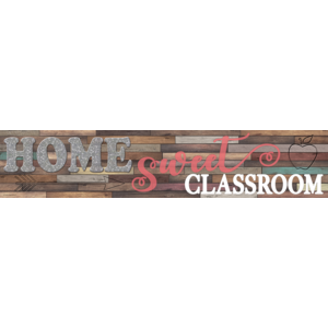 TCR8837 Home Sweet Classroom Banner Image