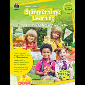 TCR8839 Summertime Learning PreK Image