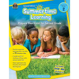 TCR8842 Summertime Learning Grade 2 Image