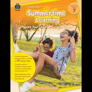 Summertime Learning Grade 7