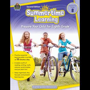 TCR8848 Summertime Learning Grade 8 Image