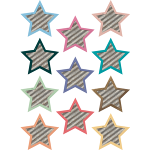 TCR8860 Home Sweet Classroom Stars Mini Accents Image