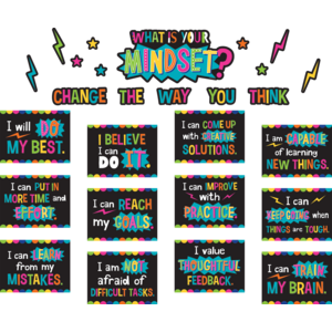 TCR8882 What is Your Mindset? Bulletin Board Display Set Image