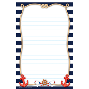 TCR8887 Nautical Notepad Image