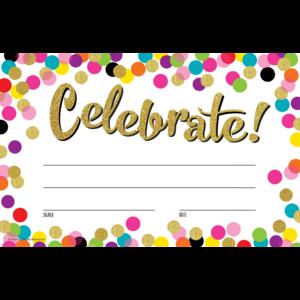 TCR8892 Confetti Celebrate! Awards Image