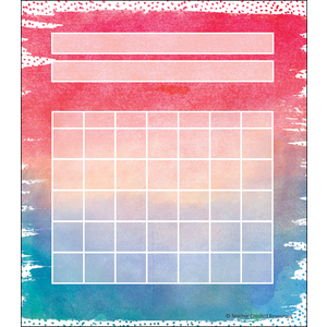 TCR8970 Watercolor Incentive Charts Image