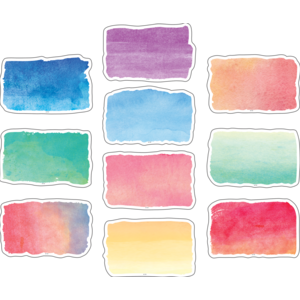 TCR8972 Watercolor Accents Image