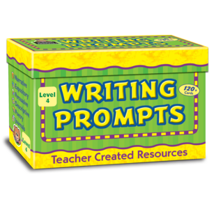 TCR9004 Writing Prompts, Level 4 Image
