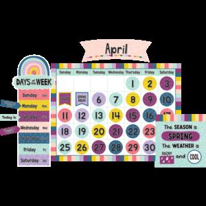 TCR9021 Oh Happy Day Calendar Bulletin Board Image