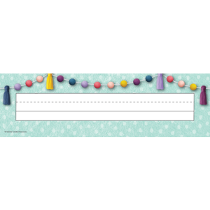 TCR9058 Oh Happy Day Flat Name Plates Image