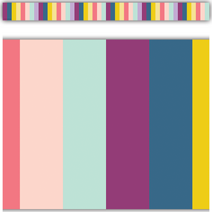 TCR9088 Oh Happy Day Stripes Straight Border Trim Image