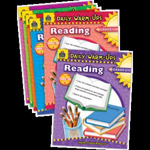 TCR9806 Daily Warm-ups: Reading Set (6 books) Image