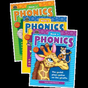 TCR9816 Phonics Set (3 books) Image