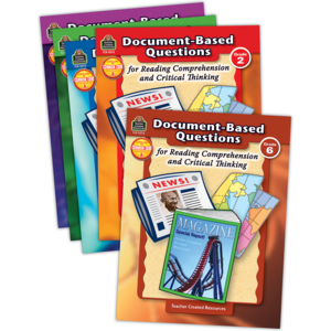 TCR9844 Document-Based Questions Set (5 books) Image