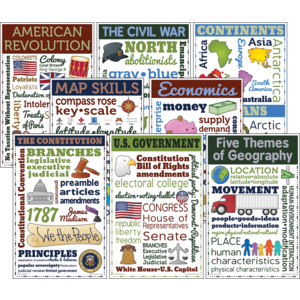 TCRCC3105 Social Studies Chatter Charts Image