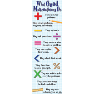 TCRV1617 What Good Mathematicians Do Colossal Poster Image