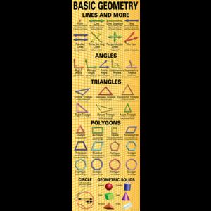 TCRV1645 Basic Geometry Colossal Poster Image