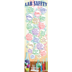 TCRV1686 Science Lab Safety Colossal Poster Image