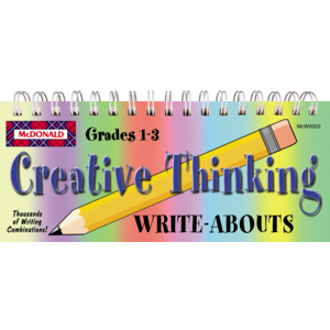 TCRW2022 Creative Thinking Write-Abouts Grades 1-3 Image