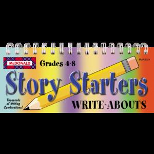 TCRW2024 Story Starters Write-Abouts Grades 4-8 Image