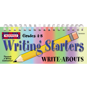 TCRW2025 Writing Starters Write-Abouts Grades 4-8 Image