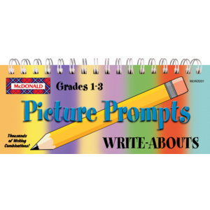 TCRW2031 Picture Prompts Write-Abouts Grades 1-3 Image