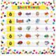 Confetti 7 Pocket Chart Alternate Image A