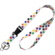 Colorful Paw Prints Lanyard Alternate Image C