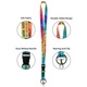 Positive Sayings Watercolor Lanyard Alternate Image D