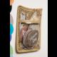 Burlap Magnetic Storage Pocket Alternate Image B