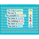 Light Blue Marquee Mini Pocket Chart Alternate Image A