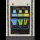 Chalkboard Brights Place Value Pocket Chart Alternate Image B