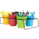 Aqua Polka Dots Bucket Alternate Image A