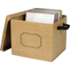 Burlap Storage Box Alternate Image A