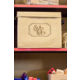 Burlap Storage Box Alternate Image B