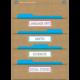 Burlap 10 Pocket File Storage Pocket Chart Alternate Image B