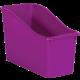 Purple Plastic Book Bin 6 Pack Alternate Image A