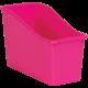 Pink Plastic Book Bin 6 Pack Alternate Image A