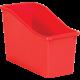Red Plastic Book Bin 6 Pack Alternate Image A