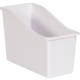 White Plastic Book Bin 6 Pack Alternate Image A