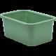 Eucalyptus Green Small Plastic Storage Bin 6 Pack Alternate Image A